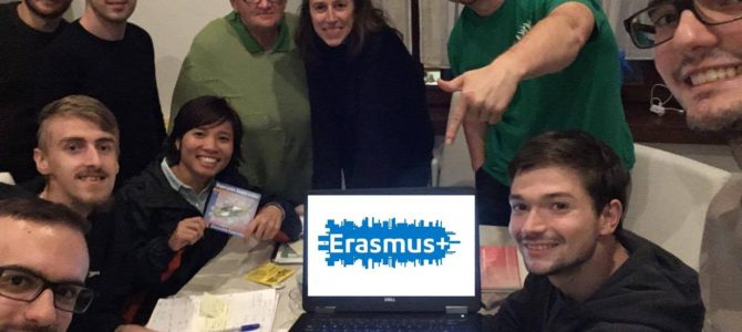 FOTO: Instruista projekto – EK-evento en Trento, Italio