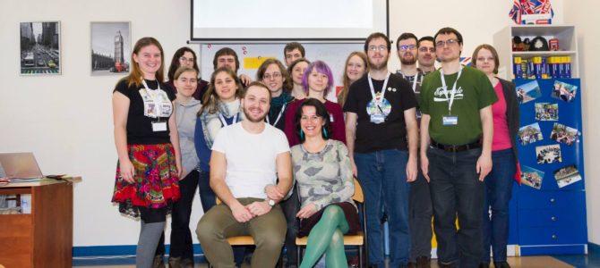Zpráva o úvodním školení dobrovolnického vyučování v rámci projektu Erasmus+ během JES 2017 v Polsku